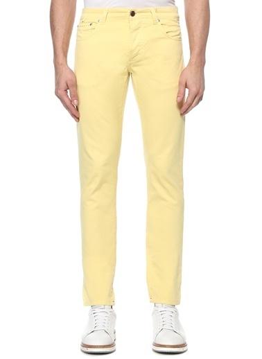 Isaia Pantolon Sarı